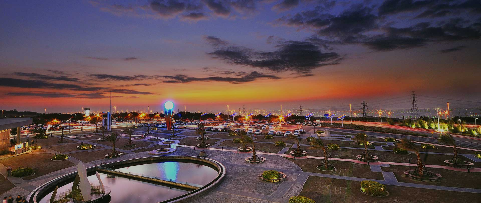 The view of attraction in Taichung